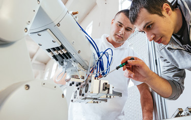 Design challenges with collaborative Robots