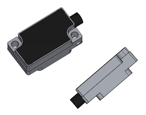 MicroE Optical Encoder - Mercury II Series MII6000V - CAD preview