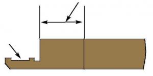 Hub shoulder width - Figure 7