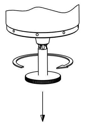 Unscrew collet Drawing