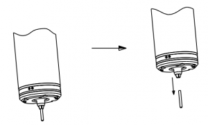 Remove Collet Tool Drawing