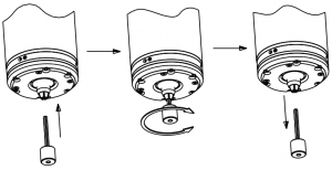 Remove Dust from Collet Bore