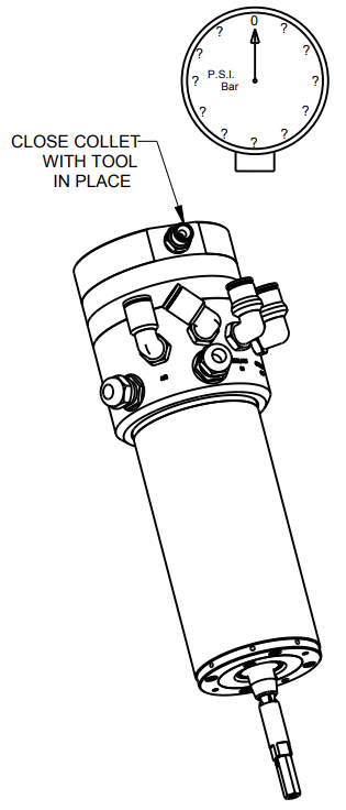 Close Collet Drawing