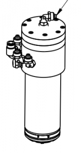 Actuate (open) Collet Drawing