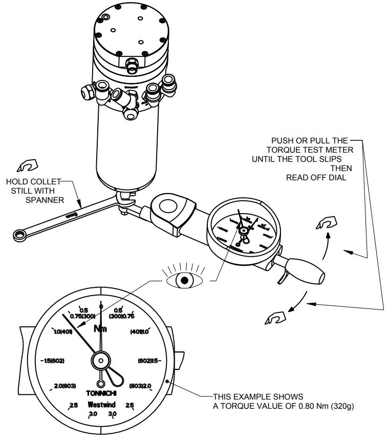Torque Test Meter Tool Rad Drawing