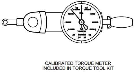 Calibrated Torque Meter drawing