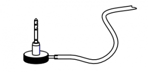 Applicator with Silicone Tube Drawing