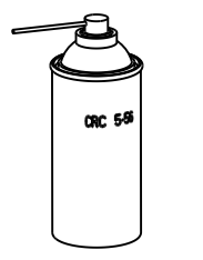 CRC Power Lubricant Bottle Drawing