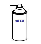 CRC 5-56 or CRC Power Lube Drawing