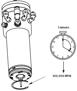 Run Spindle Timing Drawing