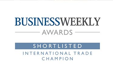 International Trade Champion - Business Weekly Awards