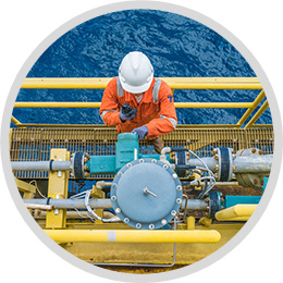 Offshore oil automation
