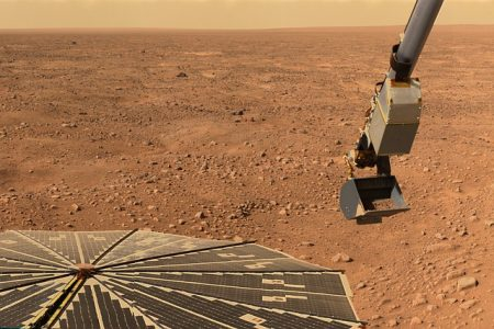 space robot mars