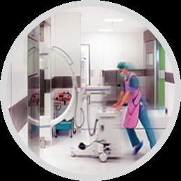 Anwendung im Krankenhaus