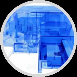 Application de distribution microfluidique
