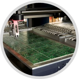 SMT Alma ve Yerleştirme Makinesi Uygulaması