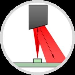 Suchscheinwerfer-Grafik