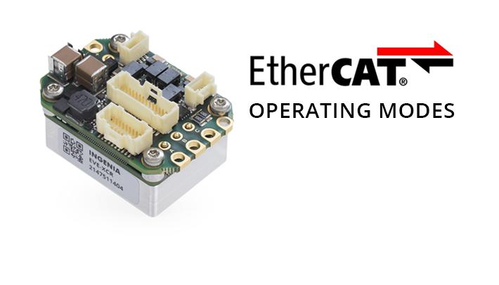EtherCAT operating modes