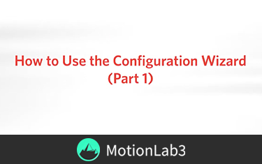 How to use the Configuration Wizard
