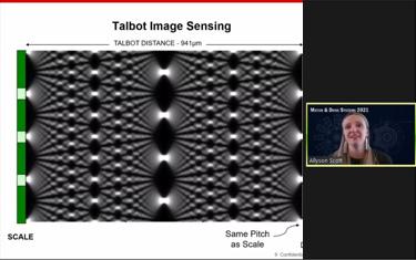 Talbot Image Sensing