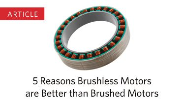 Reasons Brushless Motors are Better than Brushed Motors