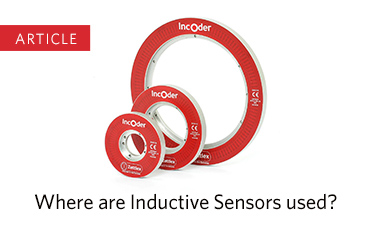 Where are inductive sensors used?
