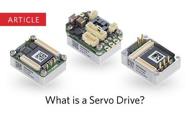 What is a Servo Drive? article